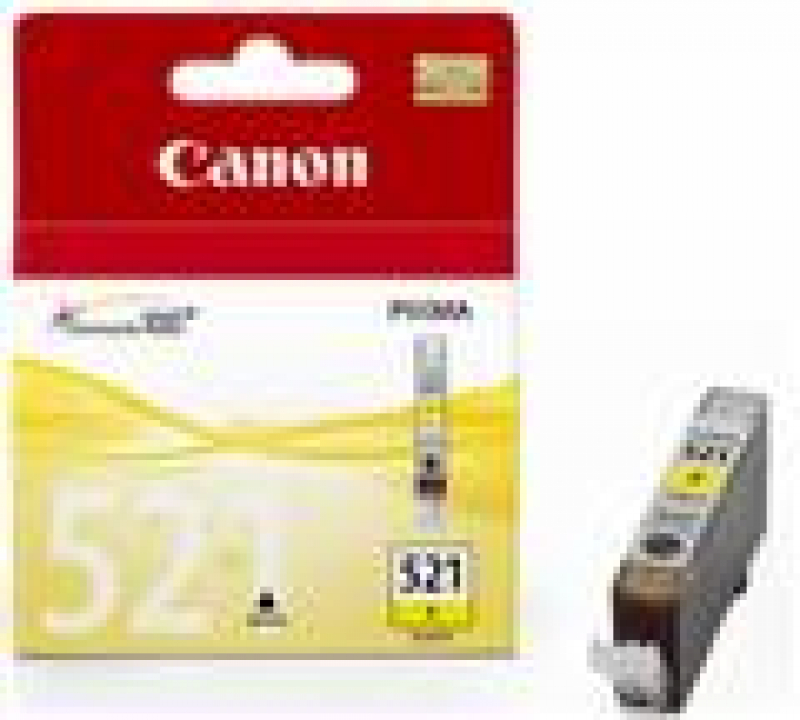 Canon CLI-521Y Original yellow Canon Pixma iP3600 iP4600 iP4700 MP540 MP550 MP620 MP630 MP980 MX870