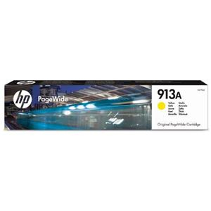 HP 913A FT679AE Originalpatrone yellow ca. 3.000 S. für HP Pagewide Pro 352dn 377dn 377dw 452dw 477dw Pagewide Managed P55250dw MFP P57750dw